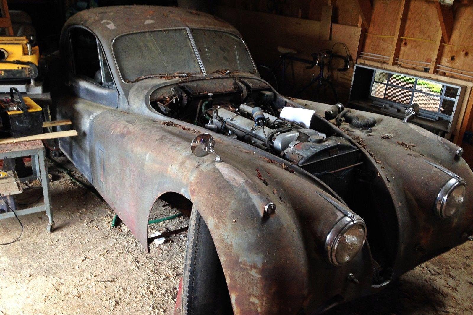 Still Runs: 1951 Jaguar XK120 Coupe | Barn finds, Jaguar xk120 and ...