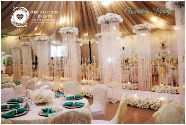Nigerian wedding decor traditional and white wedding ideas nigerian wedding decor ideas photos of wedding decoration inspiration from real white and traditional weddings junglespirit Images