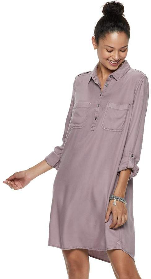 ff1330711 So Juniors' SO Utility Shirtdress   Products