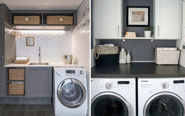 Ideas para decorar el cuarto de plancha lavadero - Cuarto lavadero pequeno ...