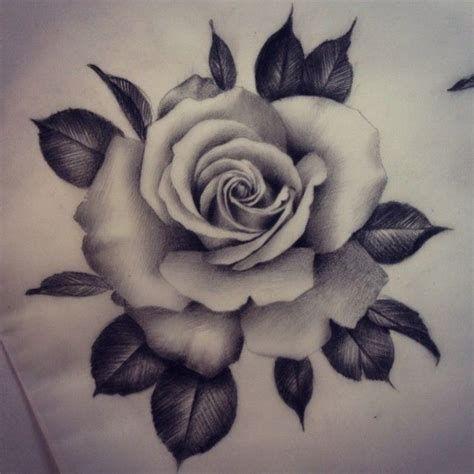 25 best realistic rose tattoo ideas on pinterest tattoo skull pinterest tattoo vorlagen - Tattoo rose noir ...
