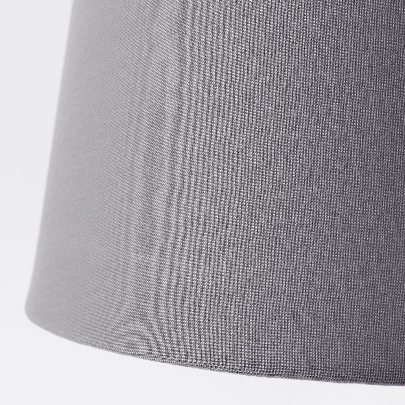 Ikea Jara Gray Lamp Shade In 2020 Lampenschirm Lampenaufhangung
