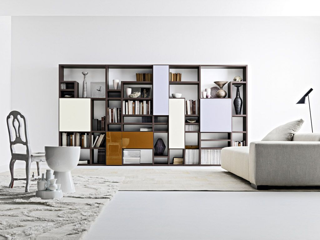 contemporary bookshelves furniture and bookcases ideasscenic