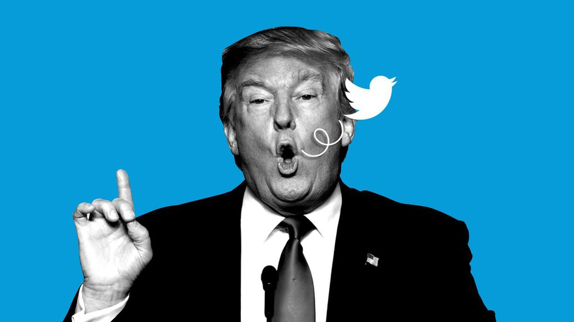 Court Ruling Could Foreshadow New Twitter Rules For Trump New Twitter Fake News Editorial Illustration