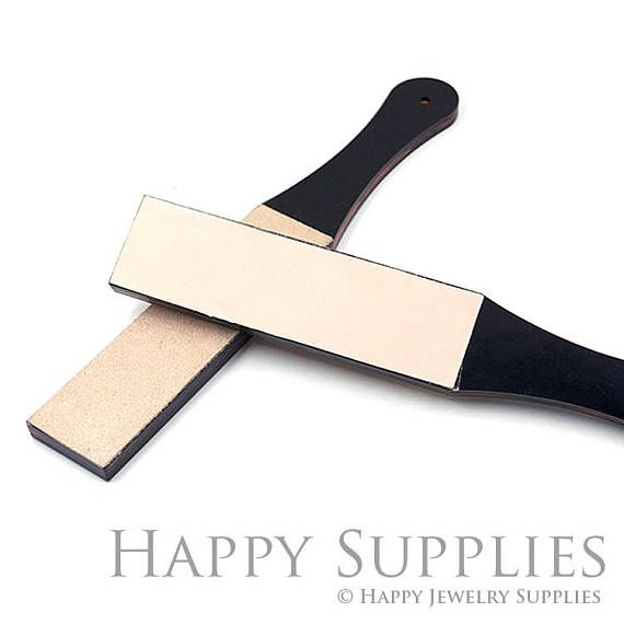 Double Sided Leather Strop Sharpening Tool Professional Double