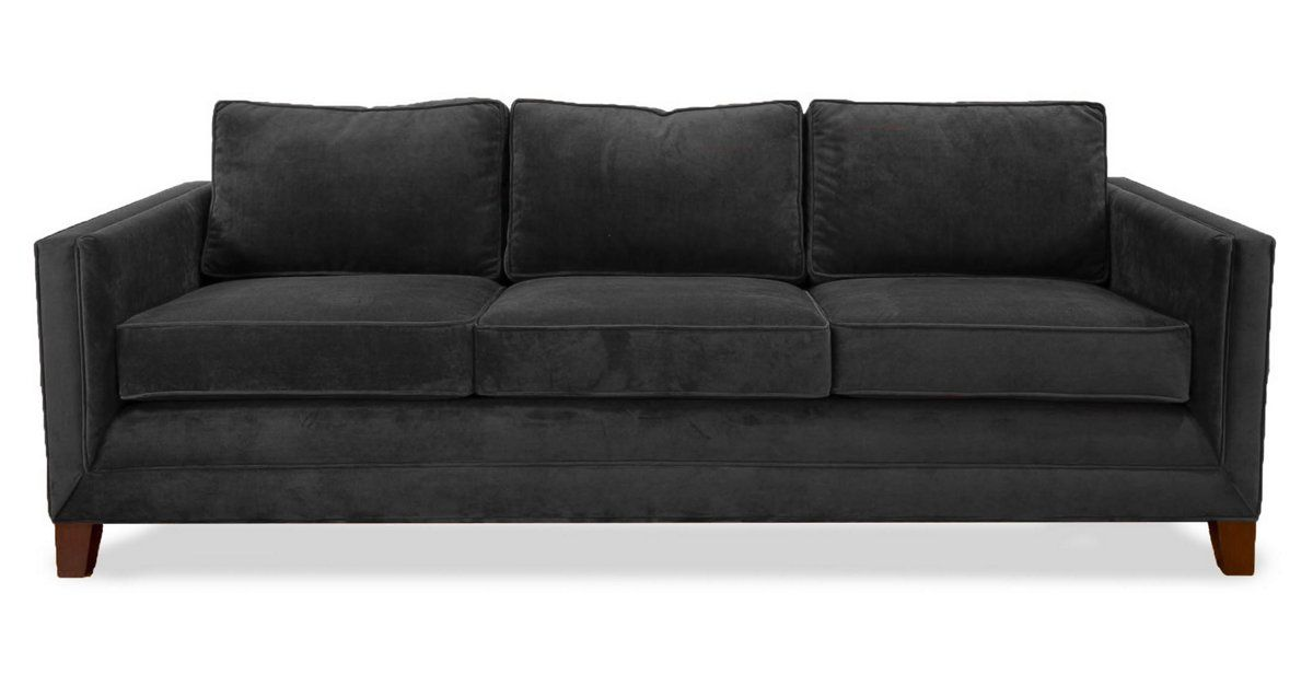 Simple Is Beautiful This Sofa Has A Pared Down Straight