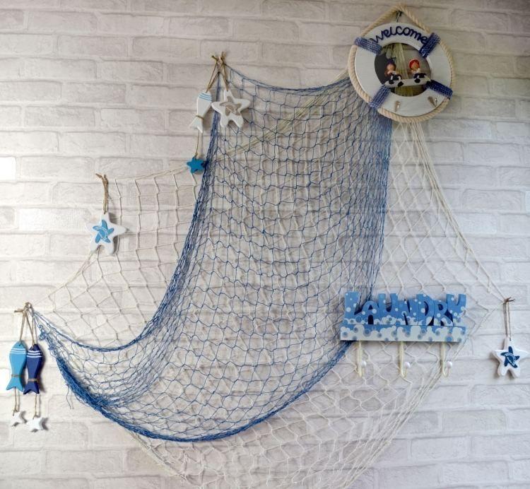 Fischernetz Fur Tadellose Maritime Dekoration Dekoration Fischernetz Maritime Tadellose Red De Pesca Decoracion De Unas Decoracion Restaurantes