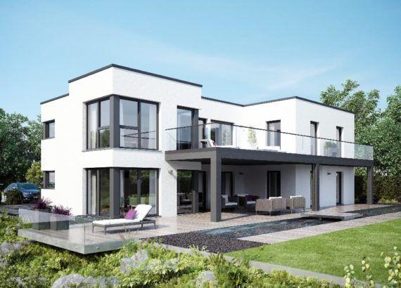 Flachdachhaus HausbauDirekt Haus, Haus bauen