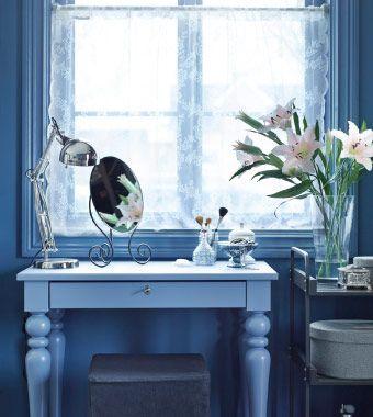 ISALA Laptop-Tisch in Blau als Schminktisch | Nele | Pinterest ...