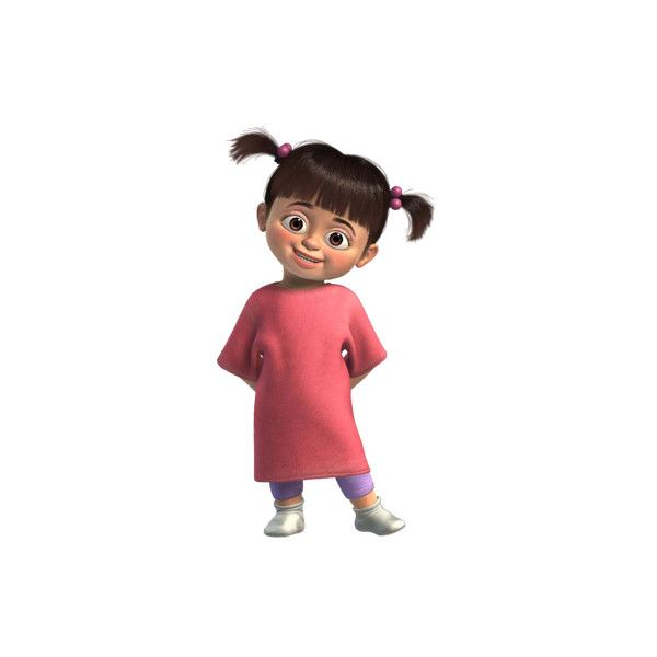 Boo > Monsters Inc. > Disney Clipart > Disney-Clipart.com found on Polyvore