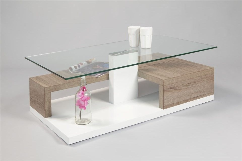 Table Basse Swithome Luis Blanche Sonoma Decor Furniture Home Decor