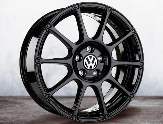 2008 Volkswagen Rabbit 5k0071498aax1 18 Motorsport Wheel