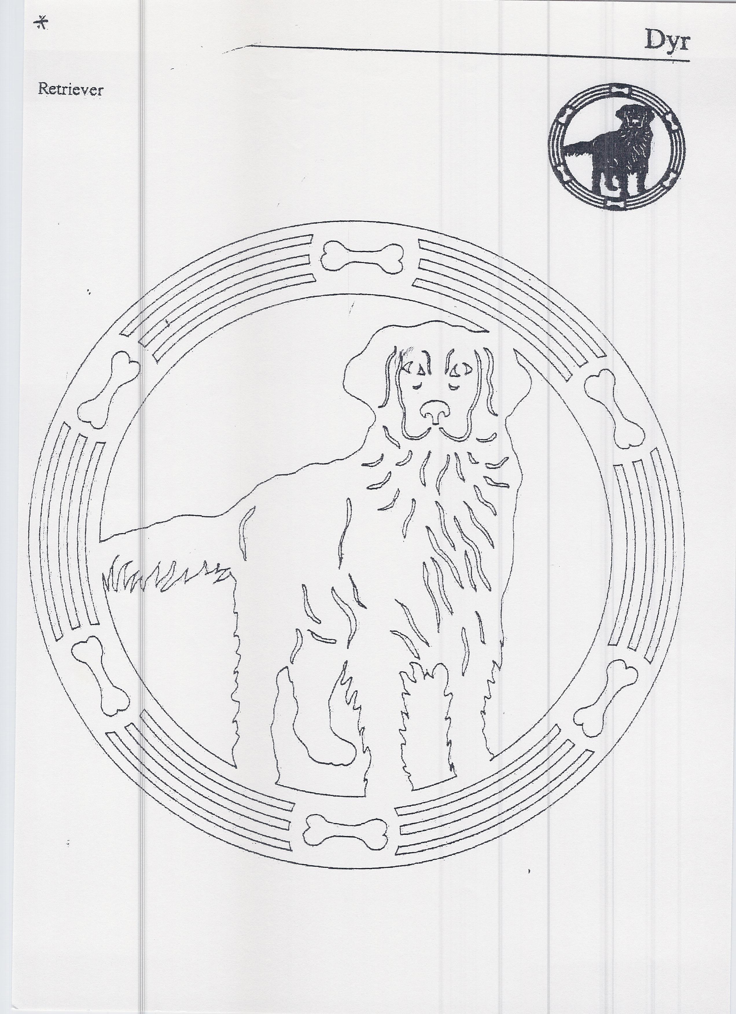 labrador   Filigrany - wycinanki   Pinterest   Laubsäge, Diana und ...