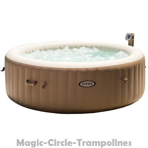 Exceptional INTEX Luxus Whirlpool Jacuzzi 4P Spa Badewanne Outdoor Aufblasbar Mit  Heizung | EBay