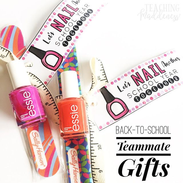 Back-To-School Teammate Gifts