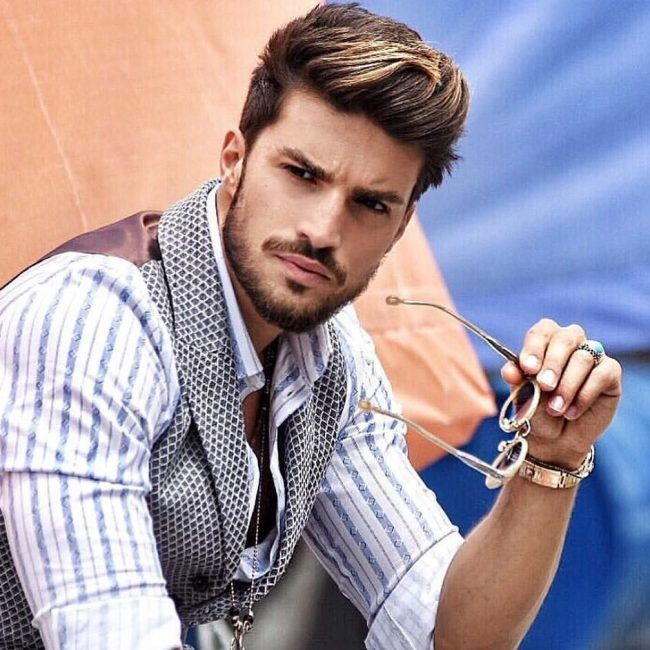 65 Best Highlights On Dark Hair Designs 2019 Colors Men Hair