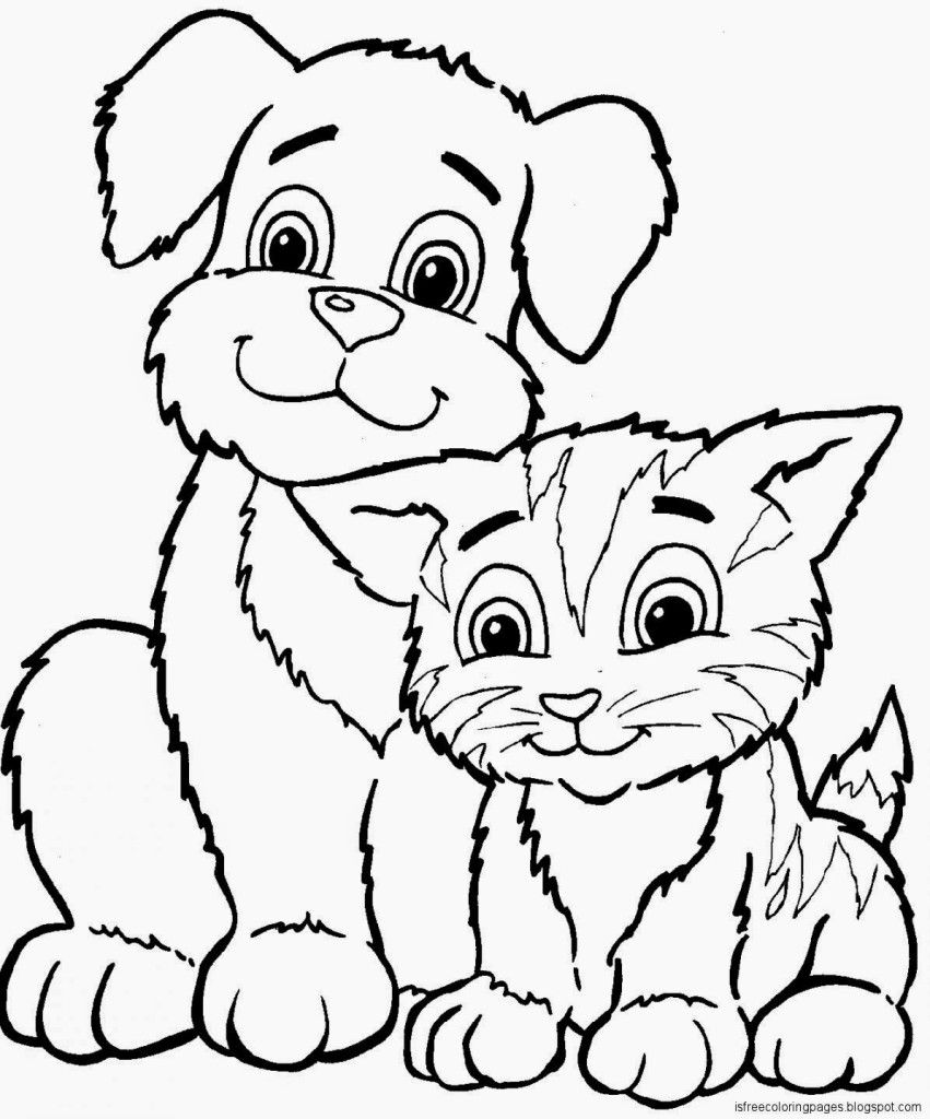 Hunde Katzen Malvorlagen Murderthestout