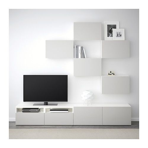 Besta Tv Storage Combination Black Brown Selsviken High