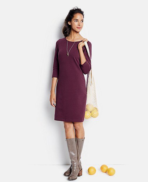 e4b4e0642c2f Simple French Terry Dress from  HannaAndersson.