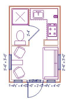 tiny house floor plans 10x12 - Google Search | Hunting shacks ...