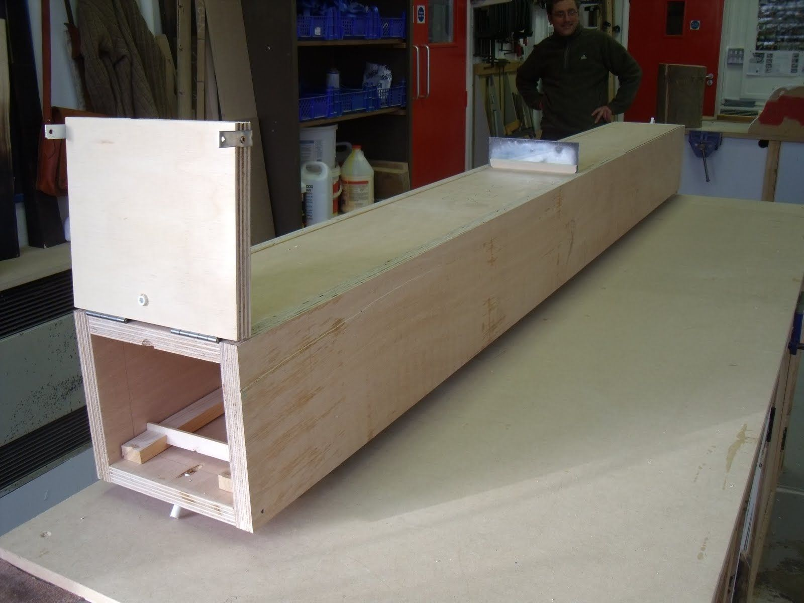 building a steam box for bending wood Art Wood