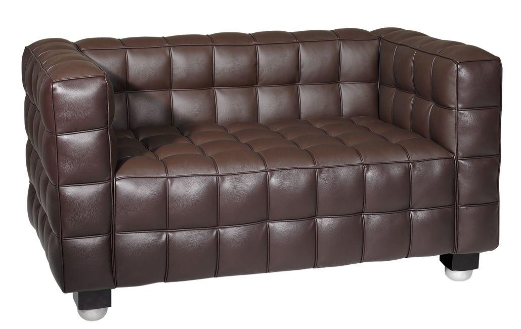 Beautiful Hoffman Furniture | Joseph Hoffman Cubis Loveseat (S1008 1)
