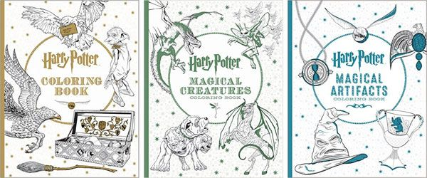 Today S Hottest Deals Save Big On Harry Potter Coloring Books For