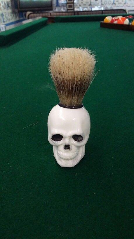 skull shaving brush shaving brushes pinterest shaving brush