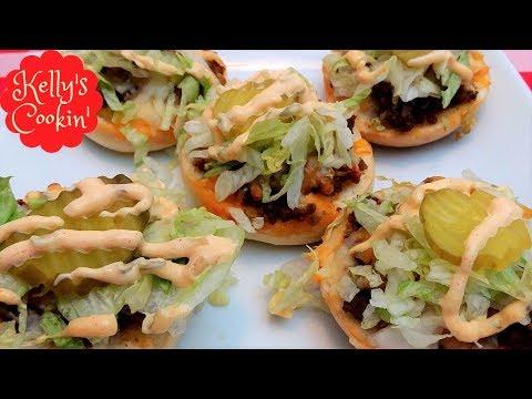 Big Mac Bagel Bites Bagel bites, Recipes, Bagel bites recipe