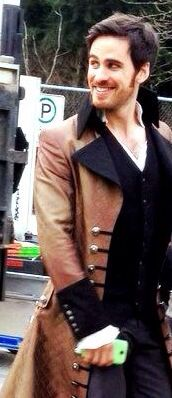 Colin O Donoghue on set of Ouat