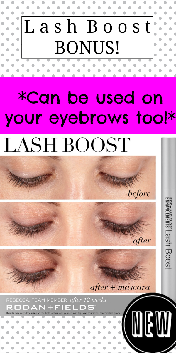 fe8927a4447 GUESS WHAT? You can put Lash Boost on your eyebrows too! If your eyebrows  are thinning, you have two reasons to use Lash Boost!