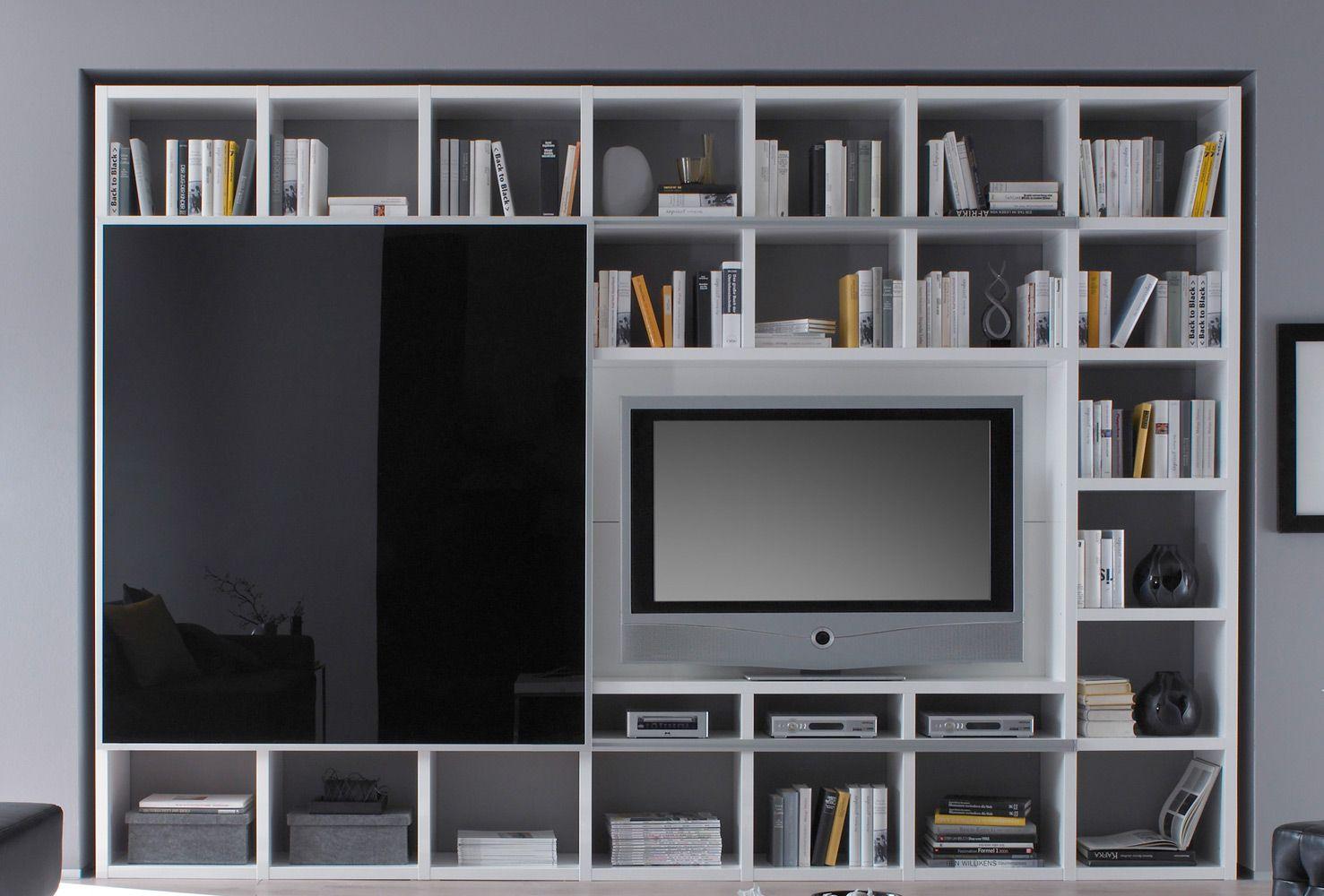 tv schrank schiebetür : fif-möbel bücherregal toro schiebetür lack, Wohnzimmer dekoo