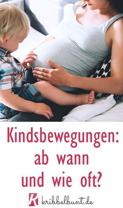 Kindsbewegungen Vor Geburt