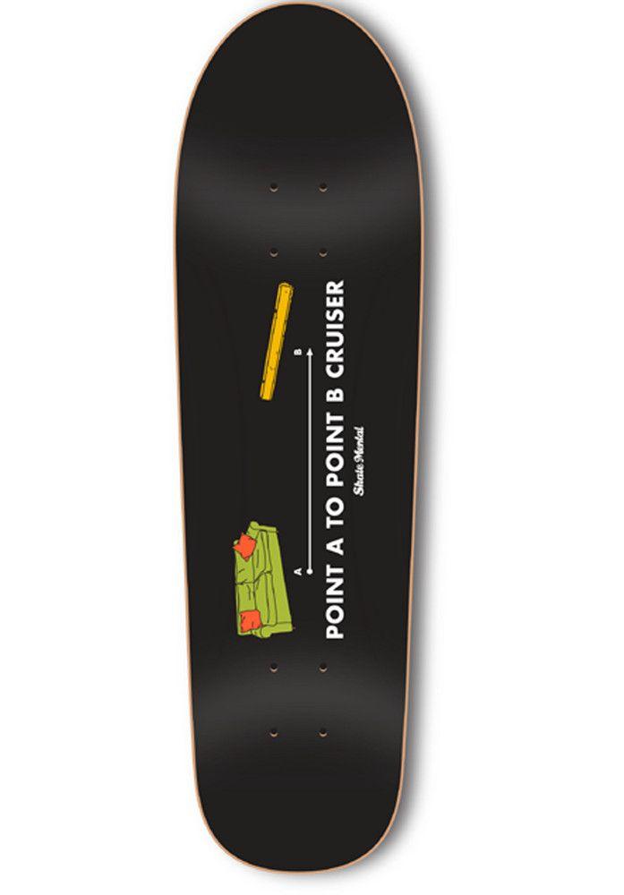 Skate-Mental Point-A-To-Point-B-Cruiser - titus-shop.com  #Deck #Skateboard #titus #titusskateshop