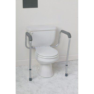 Mds86100brt Commode Safety Rails Bracket 3 Find Out More By Clicking The Visit Button Http Grab Bars In Bathroom Bathroom Safety Accessible Bathroom Design