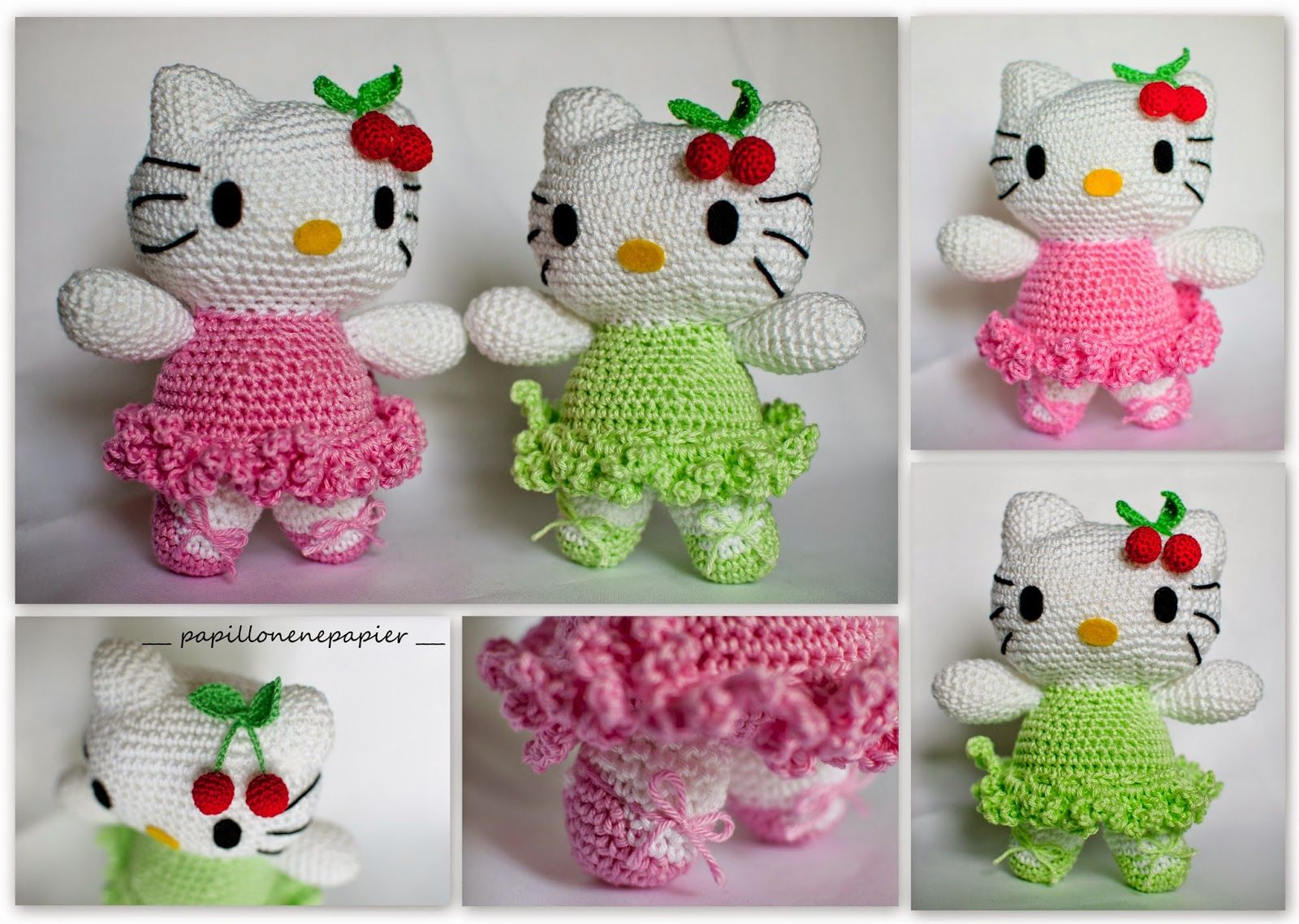 Hello Kitty Amigurumi Free Pattern Topsimages