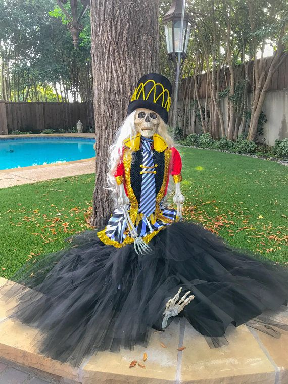 Halloween Decor Life Size Skeleton Halloween Display Large - large halloween decorations