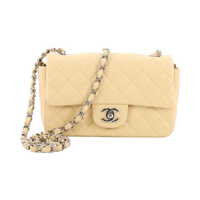 90e75bbf4ef3 Chanel Classic Single Flap Bag Quilted Caviar Mini in 2019 ...