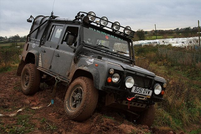 Bramcote Main Off Road Centre With Images Land Rover