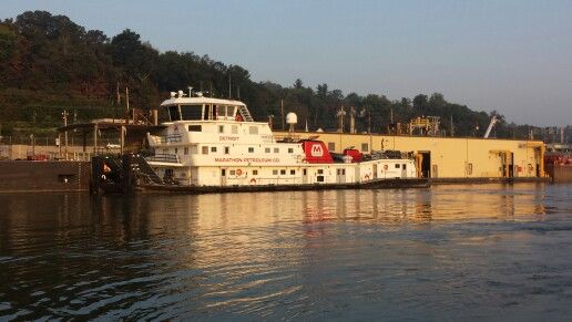 M/V Detroit 4,200 horsepower towboat owned by Marathon