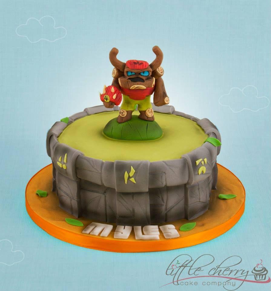 Skylanders Cake  Little Cherry Cake Company
