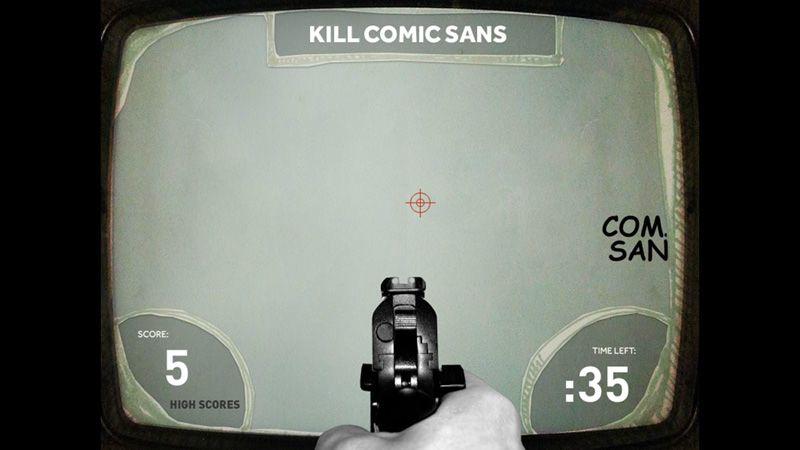 Graafinen.com - Pelit - Kill Comic Sans