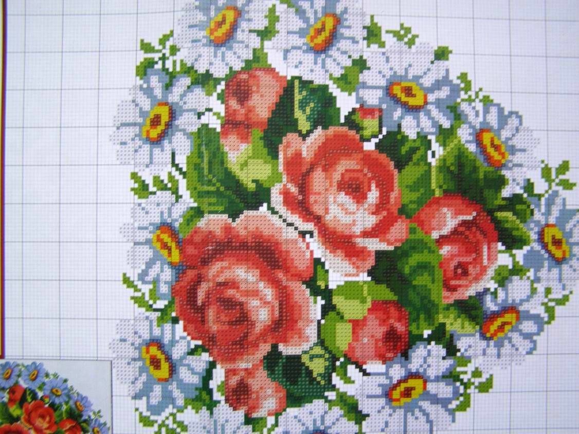 Cross stitch embroidery pattern ukrainian easter wedding towel