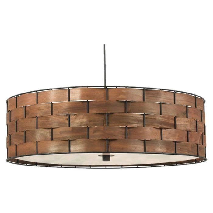 Woven 3-Light Pendant | O39 | Pinterest | Pendants, Lights and ...