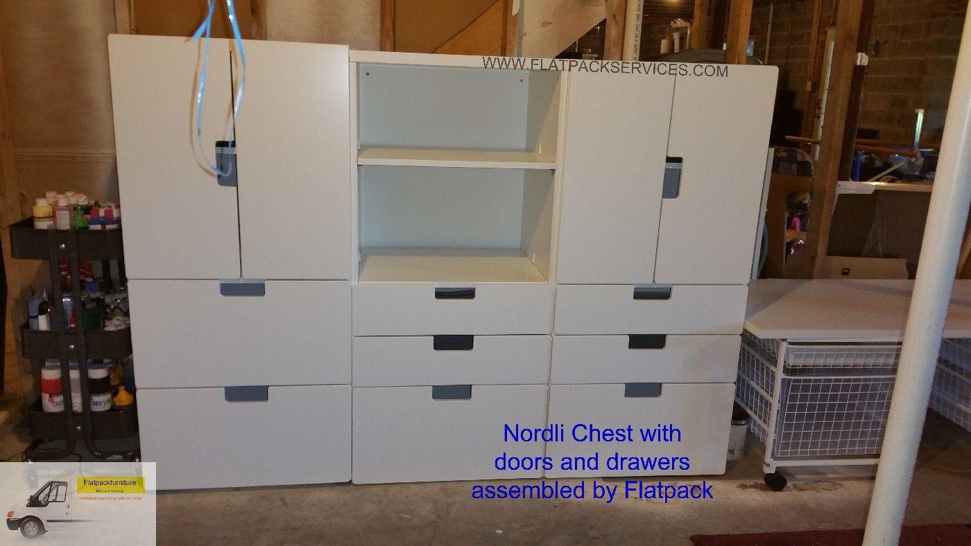 Ikea Nordli 6 Drawer Dresser Article Number 091 6