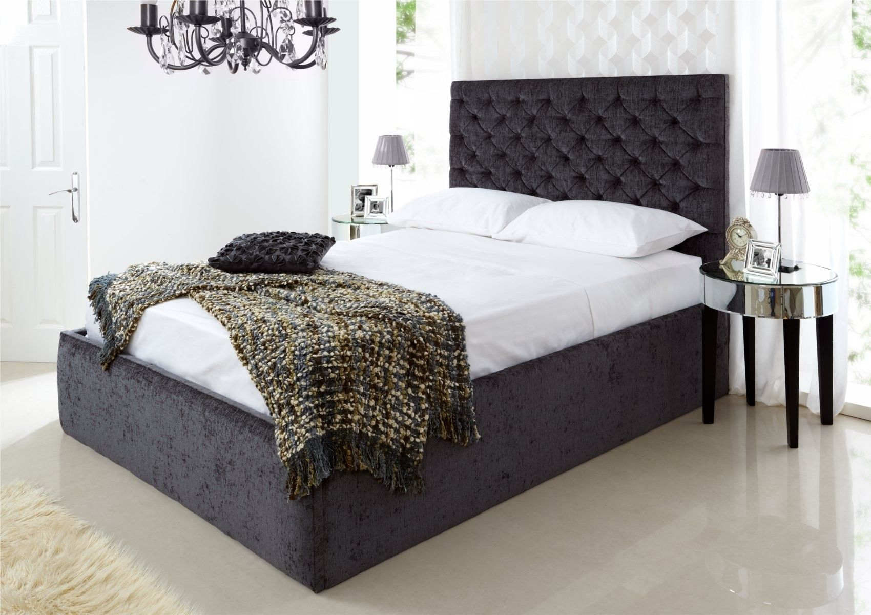 I Want This Bed Crown Ottoman Storage Bed For The