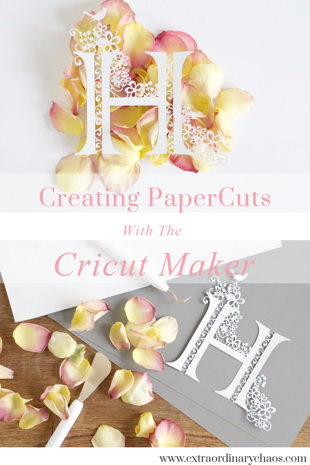 Paper Cutting With The Cricut Maker ⋆ Extraordinary Chaos