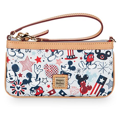 Patriotic Mickey Mouse Wristlet Bag by Dooney & Bourke | Disney Store