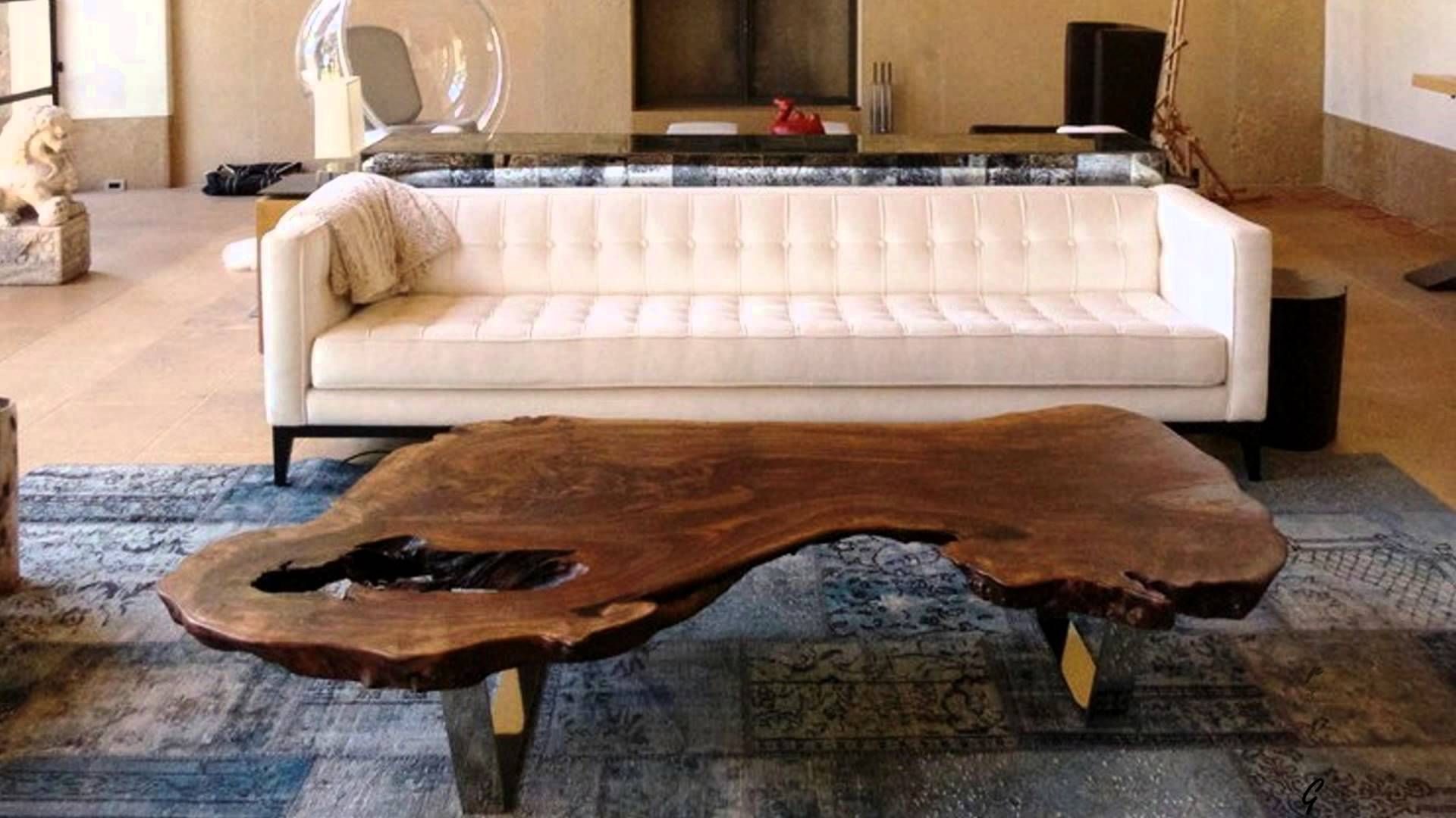 Magnificent Wood Slab Coffee Table Ideas