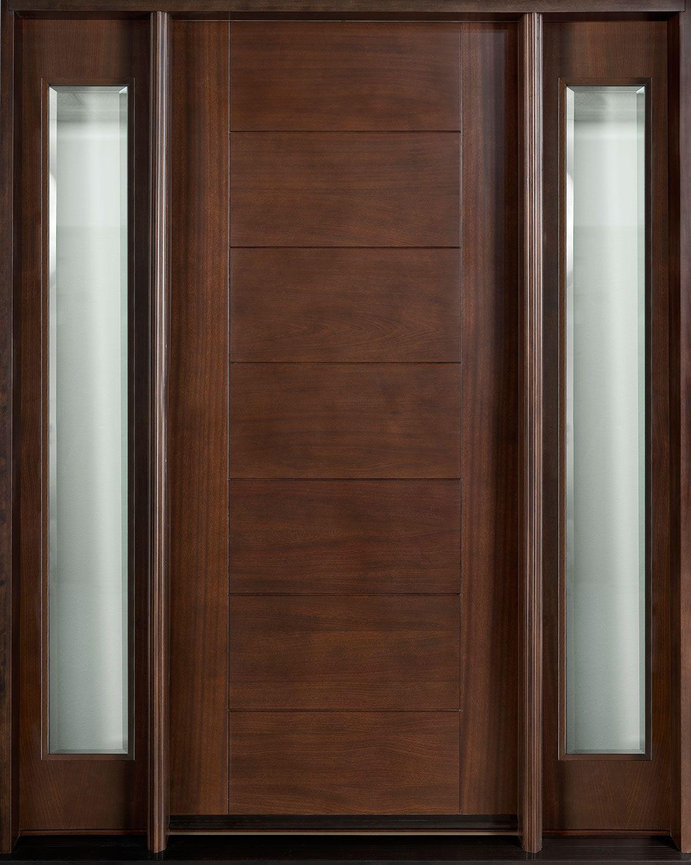 Contemporary Solid Wood Exterior Doors Portes Bois In 2018 Doors